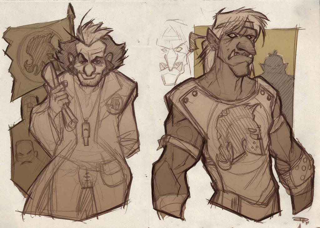 GOLEADOR - Knights team sketches 2011 by DenisM79
