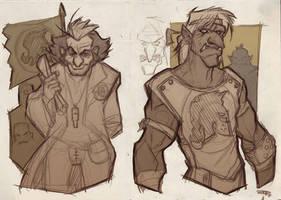 GOLEADOR - Knights team sketches 2011