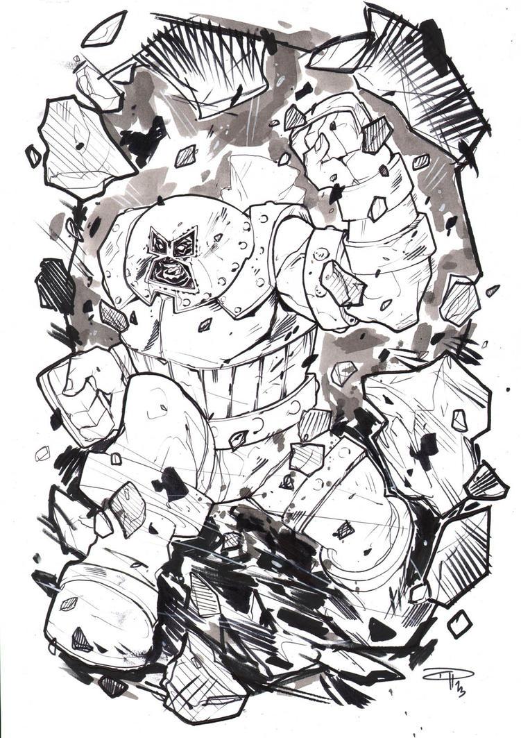 Juggernaut - Commission by DenisM79