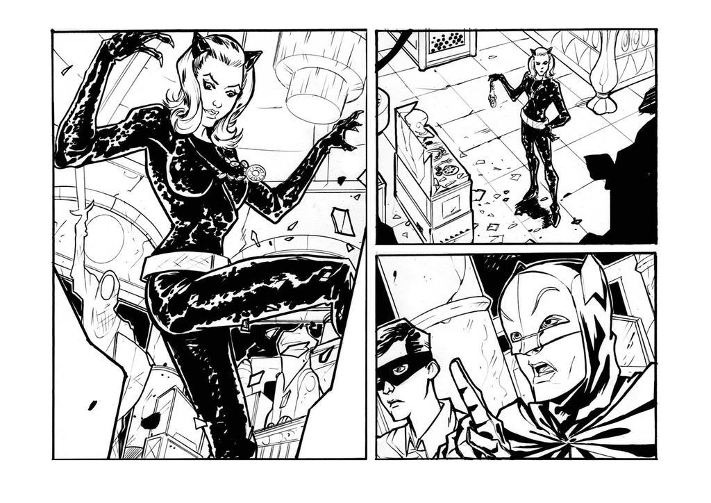 Batman 66 - sample 2013 Catwoman by DenisM79