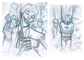 Batman 66 - sample 2013 Joker