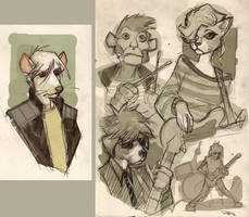 FRAGS - Characters 2012 by DenisM79