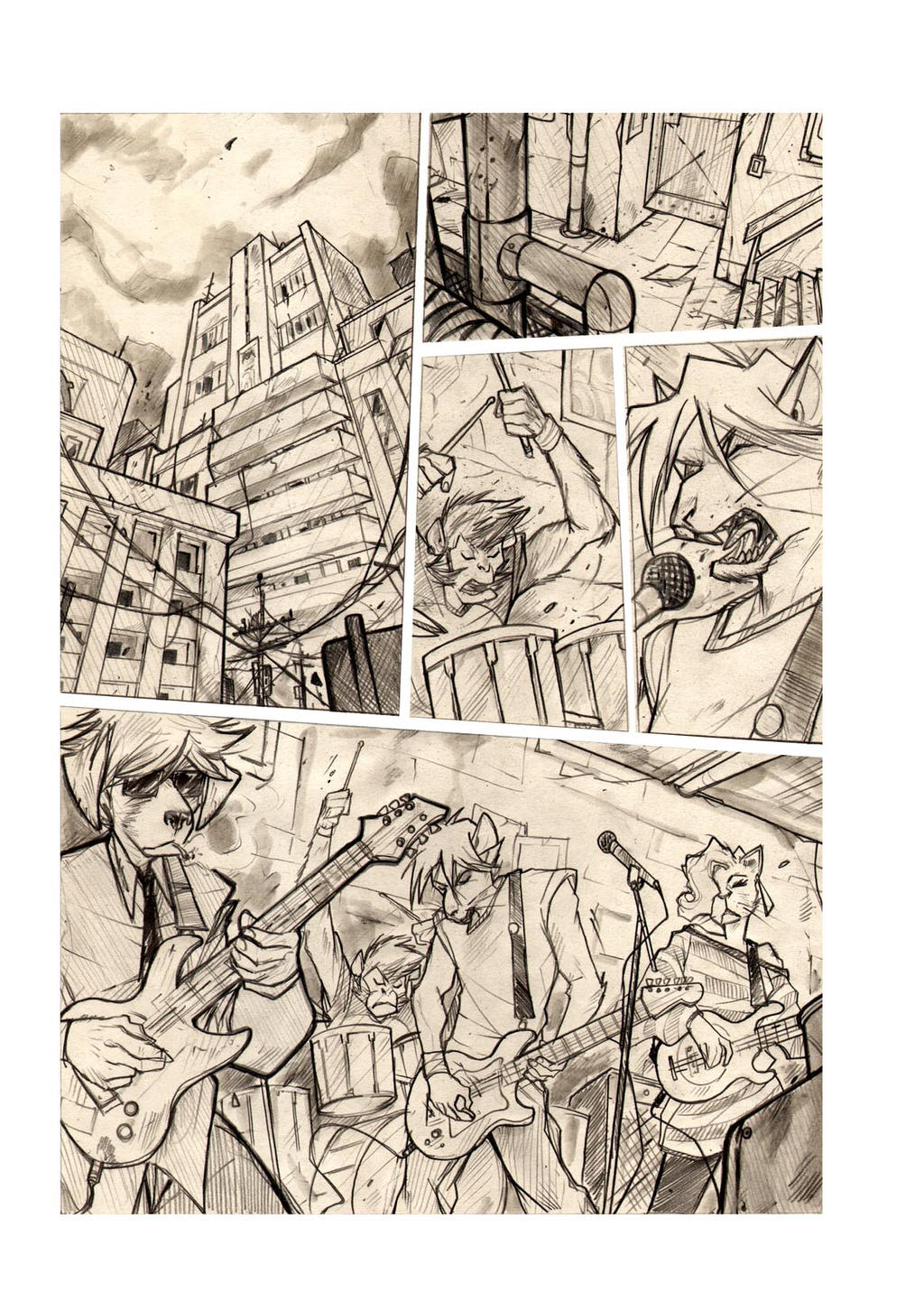 FRAGS - Sample Page 1 - 2012 by DenisM79