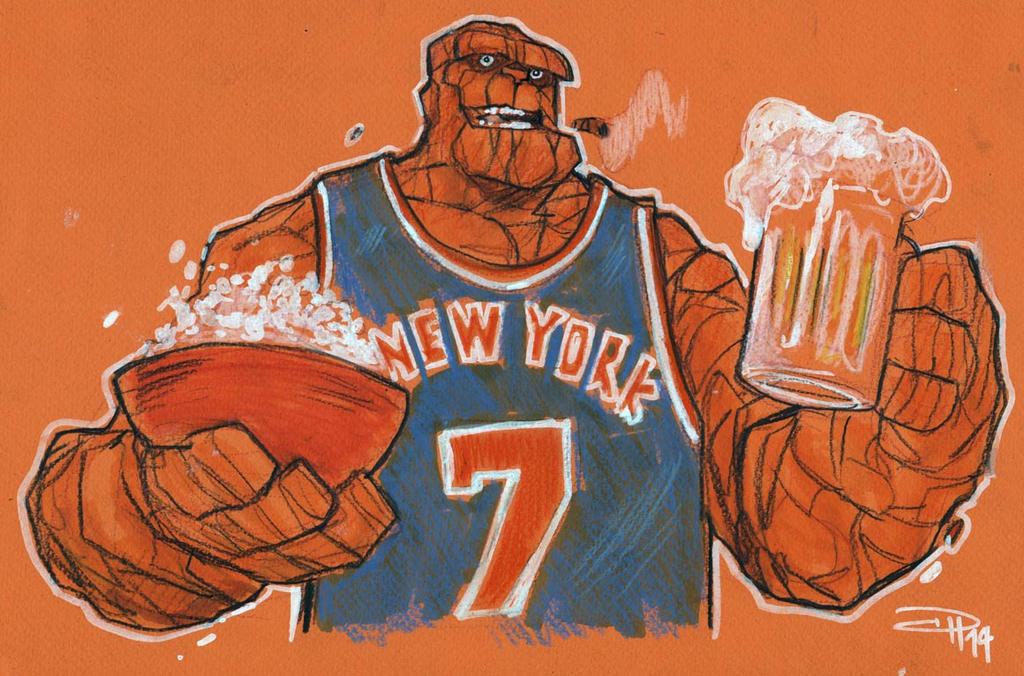 Ben Loves Knicks by DenisM79