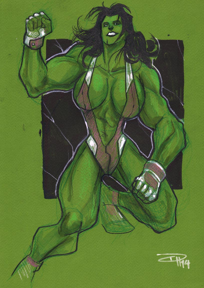 She-Hulk by DenisM79