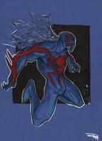 Spiderman 2099 by DenisM79