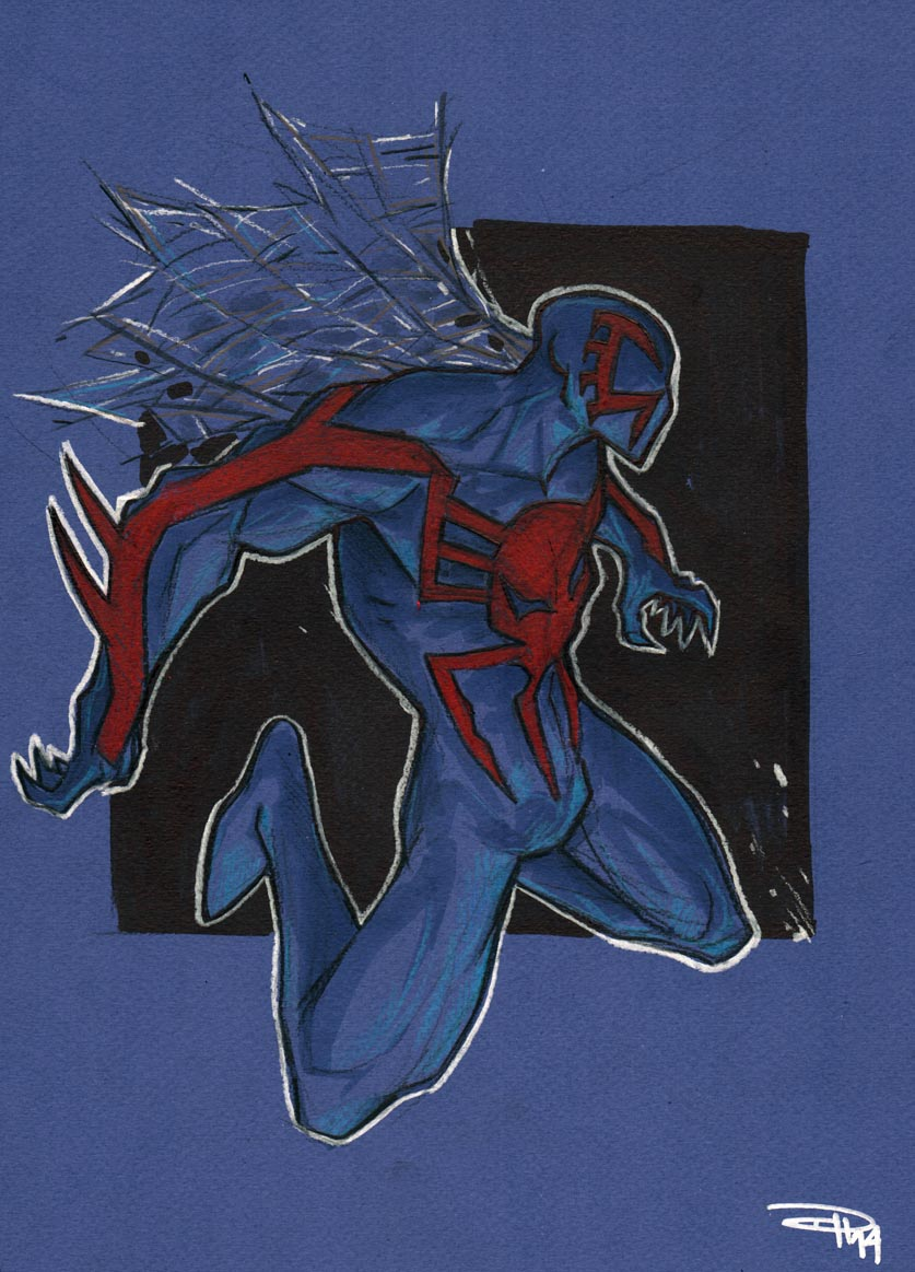 Spiderman 2099 by DenisM79