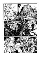DRAGONERO - sample page ink by DenisM79