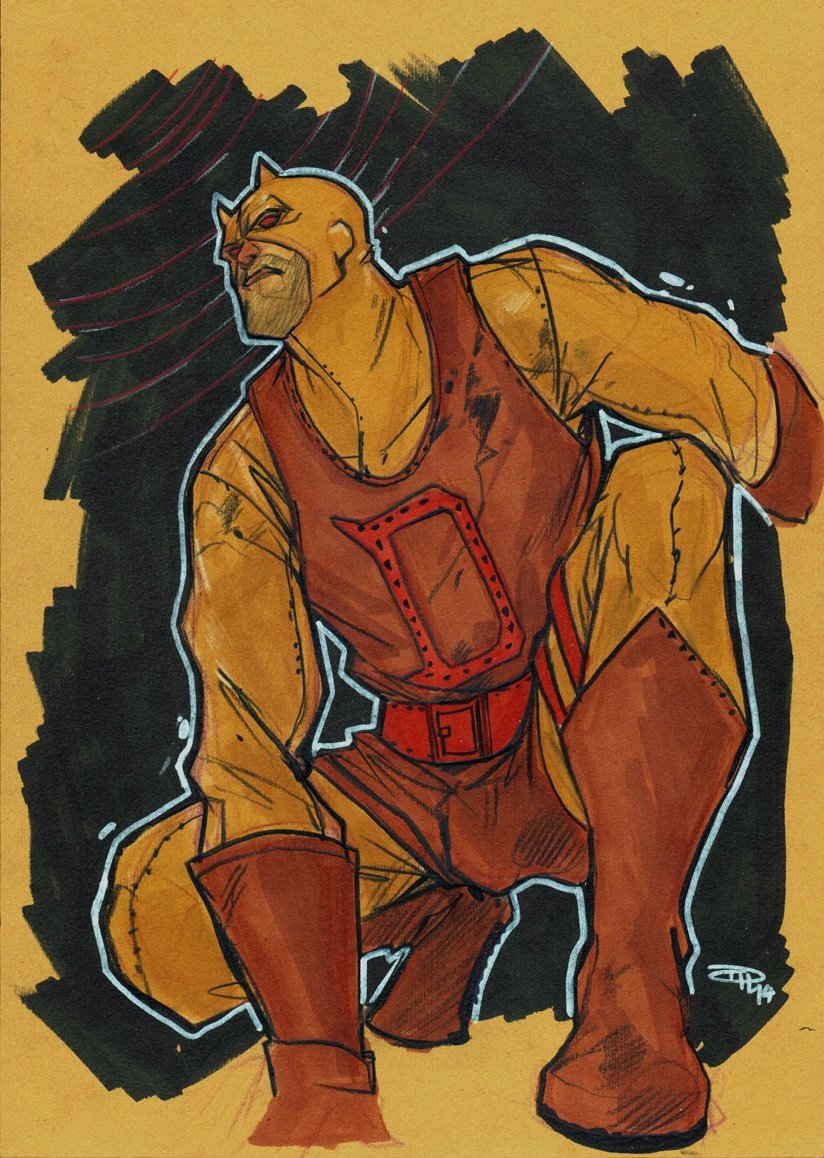 Yellow Dare Devil by DenisM79