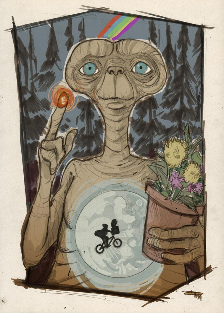 E.T. by DenisM79