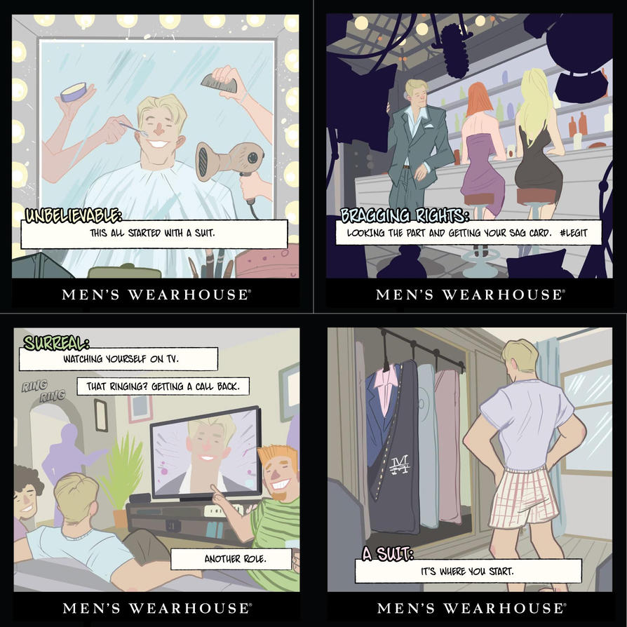 The Mens Wearhouse part 2 by DenisM79