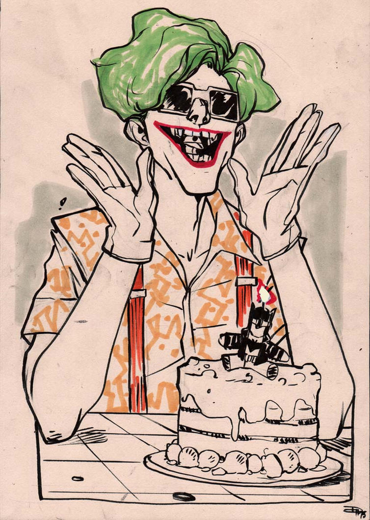 Rockabilly joker - birthday party by DenisM79