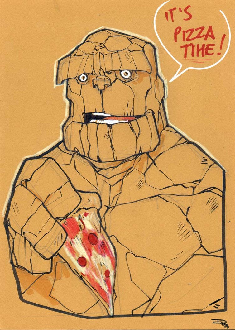 The Thing MEFCC by DenisM79