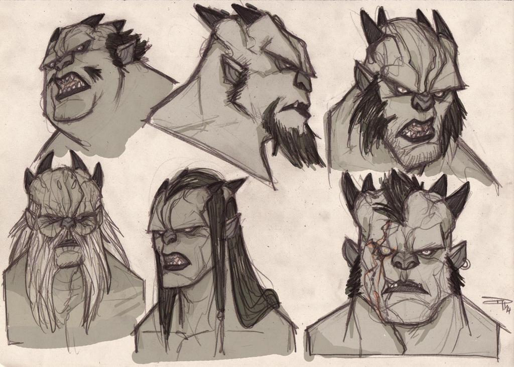 The Armagondas - Brutagans sketche 2014 by DenisM79