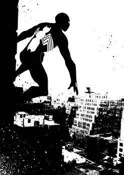 Spiderman Black Costume