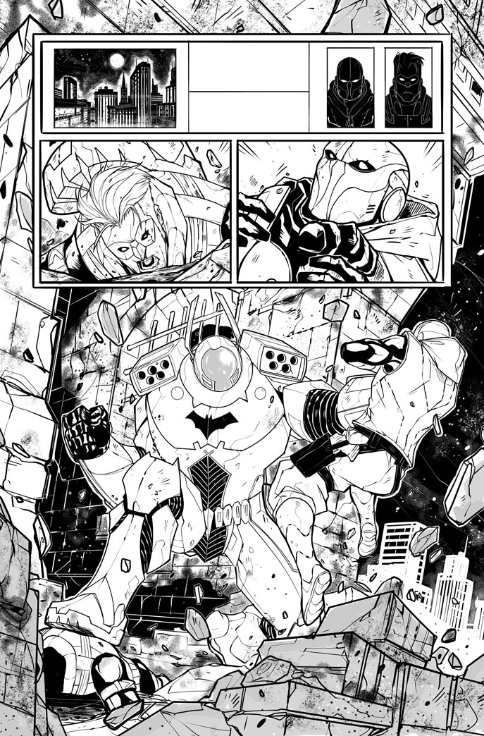 Red Hood / Arsenal n.3 page 20 by DenisM79