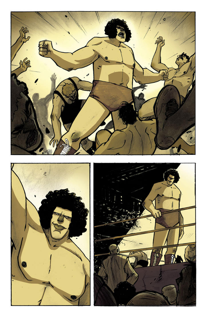 Andre the Giant : Closer to Heaven - page 29 by DenisM79