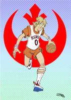 Star Wars 80s High School - Luke Rebels Team by DenisM79