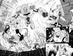 Red Hood / Arsenal n.4 page 2-3
