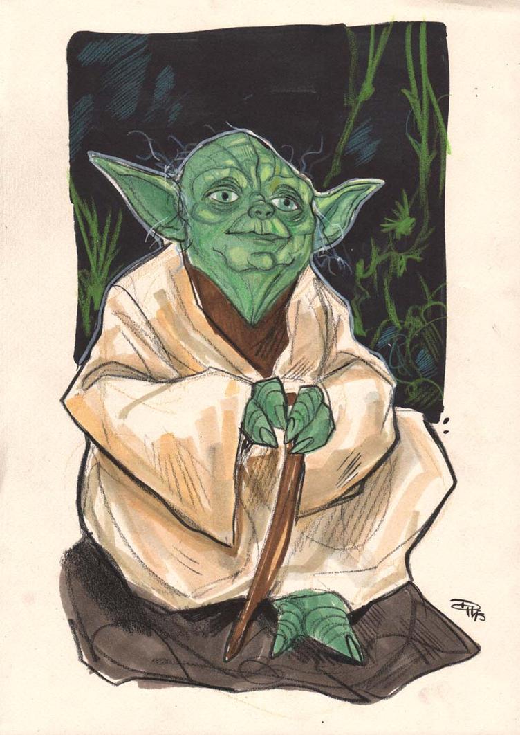 Yoda by DenisM79