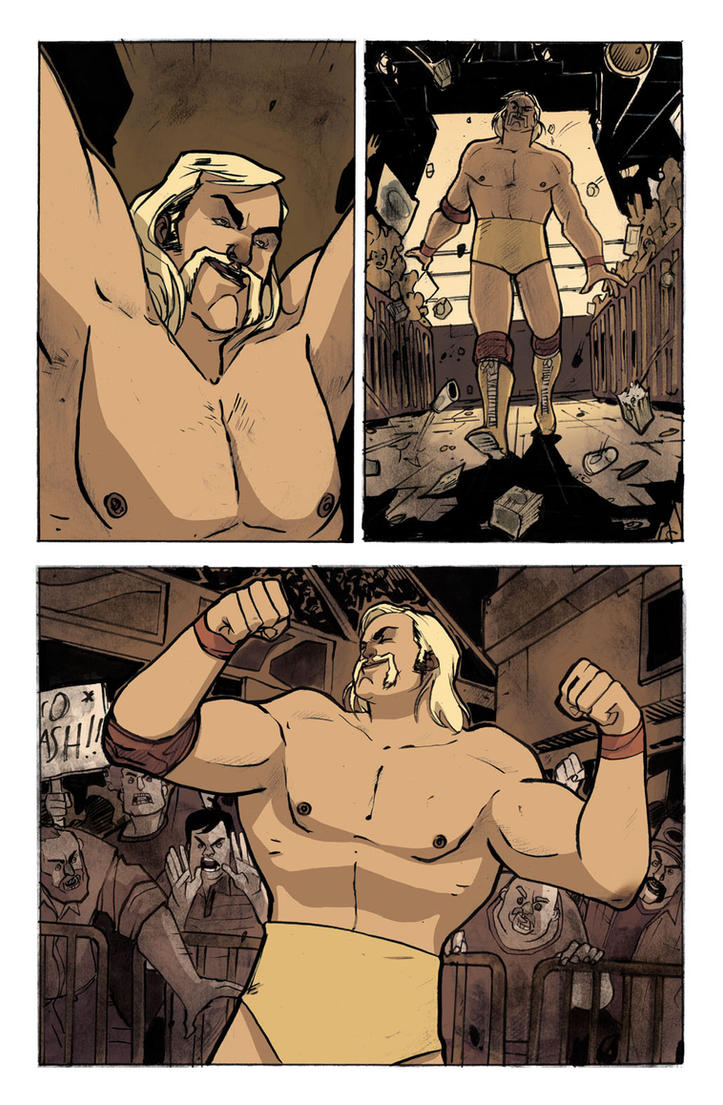 Andre the Giant : Closer to Heaven page 70 by DenisM79