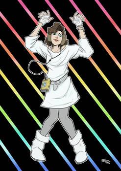 Star Wars 80s High School - Leia Dance