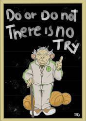 Star Wars 80s High School - Coach Yoda by DenisM79