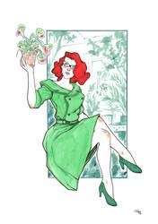 Rockabilly Poison Ivy by DenisM79