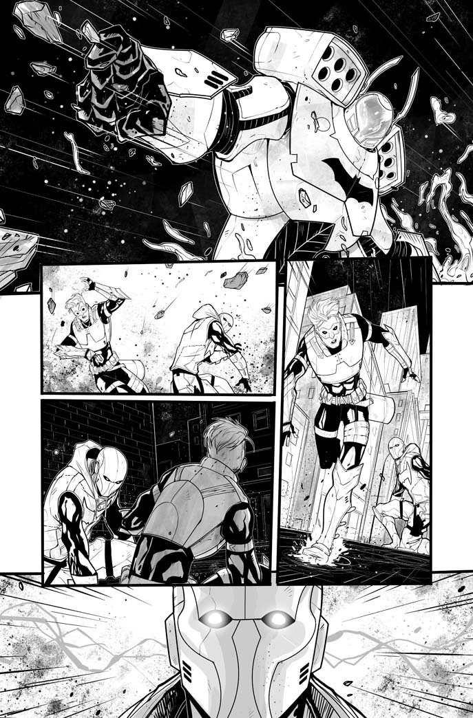 Red Hood / Arsenal 5 page 10 - 2015 by DenisM79