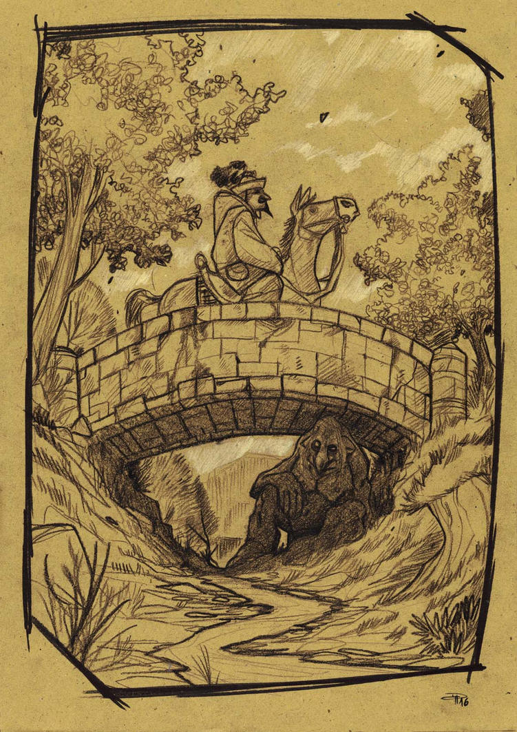 Troll Under Bridge by DenisM79