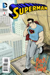 Rockabilly Superman fake Cover