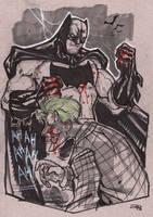 Batman vs Joker by DenisM79
