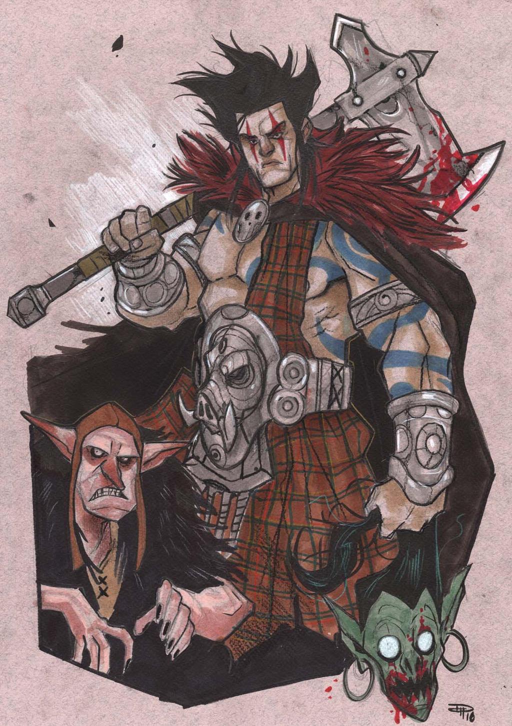 slaine – devil's bandit (long version)