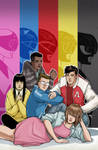 Mighty Morphin Power Rangers n.12 - variant cover