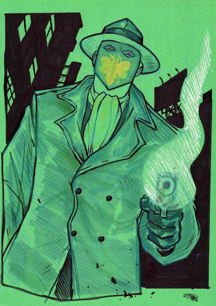 Green Hornet by DenisM79