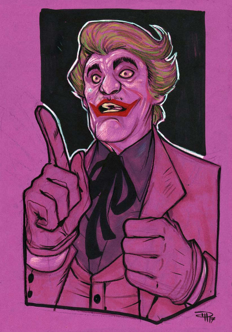 Joker - Cesar Romero by DenisM79