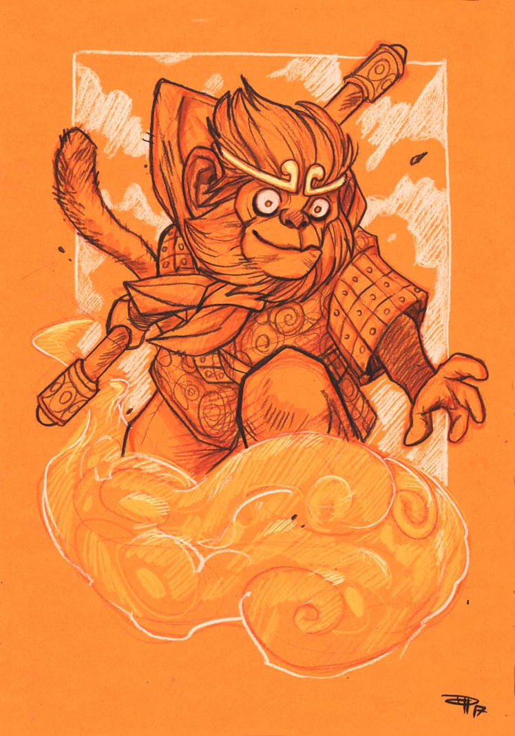 Sun Wukong by DenisM79