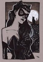 Rockabilly Catwoman by DenisM79