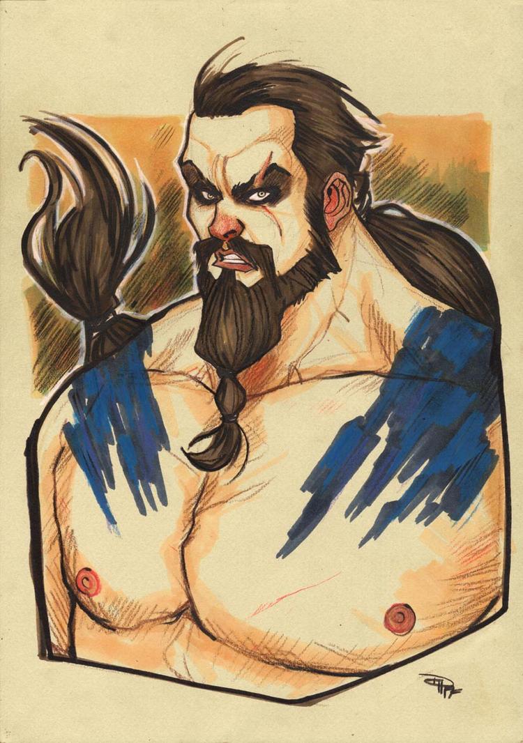 Khal Drogo by DenisM79