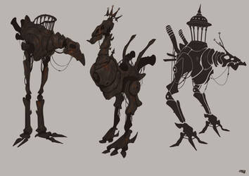 Rusty Creatures Concept - 2015 by DenisM79