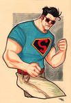 Rockabilly Superman