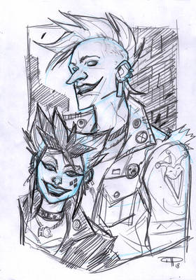 Joker and Harley Punk