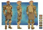 Sentinels of Earth Prime - Model Sheets - Daedauls