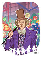 Willy Wonka and the Chocolate Factory by DenisM79