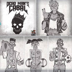 Dead Mans Cabal board game - preview by DenisM79