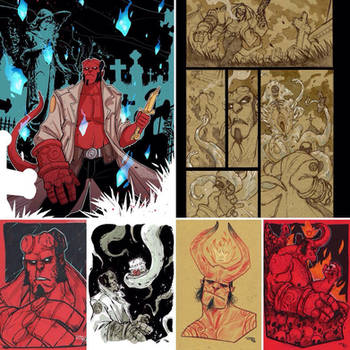 Happy Birthday Hellboy by DenisM79