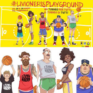 Livio Neri Playground - Poster