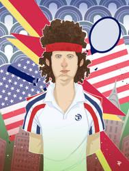 John McEnroe by DenisM79