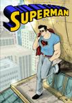Rockabilly Superman poster - 2016