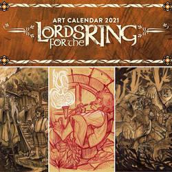 LOTR Art Calendar 2021